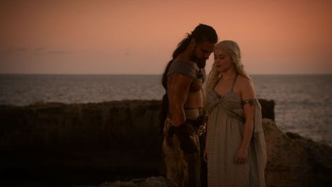 Drogo Daenerys Wedding