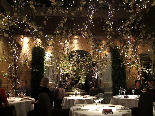 clos maggiore's most romantic dining room
