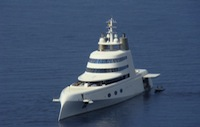 A superyacht