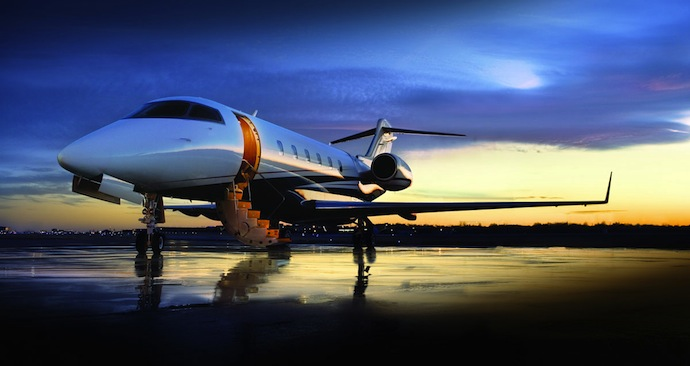 business jet travel feature