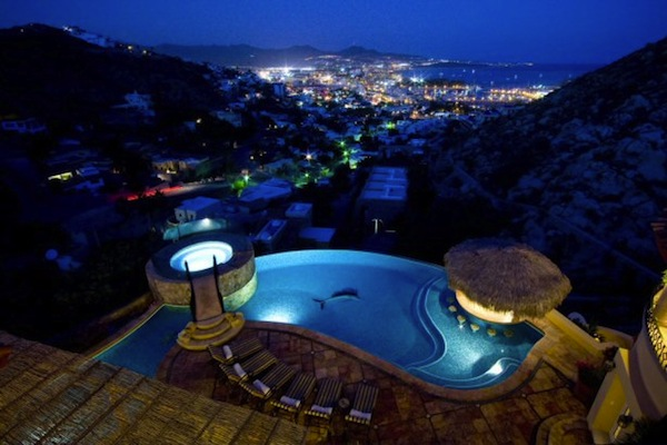 cabo san lucas villa overlooking the city