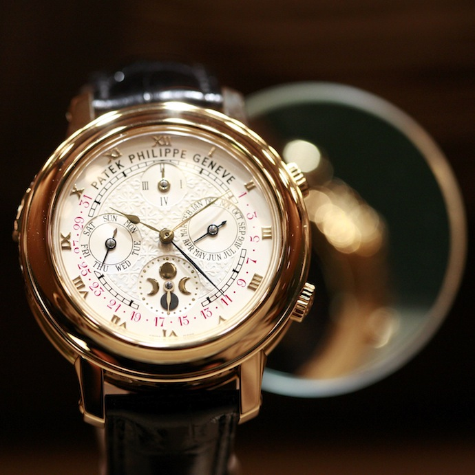 Patek philippe luxury wristwatch