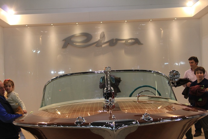 riva boats london boat show