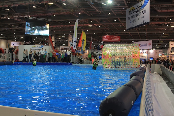 boat show watersports pool