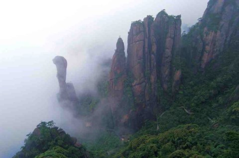 Mount Sanquingshan National Park China