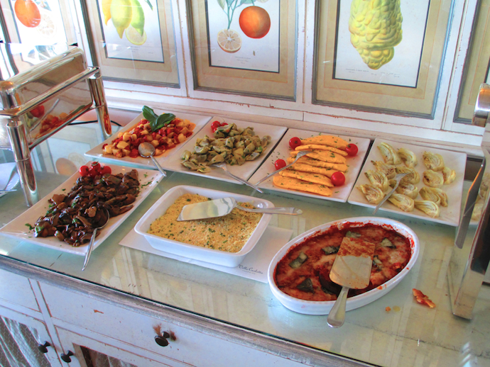 Sicilian breakfast assortment