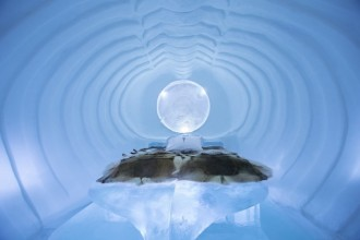 icehotel bedreeom