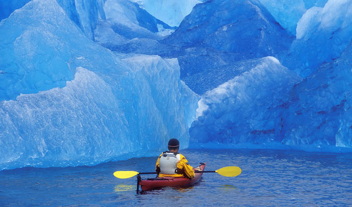 Kayaking, Alaska