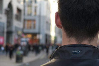 leather jacket on oxford street